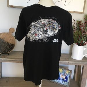 Star Wars Millennium Falcon T Shirt